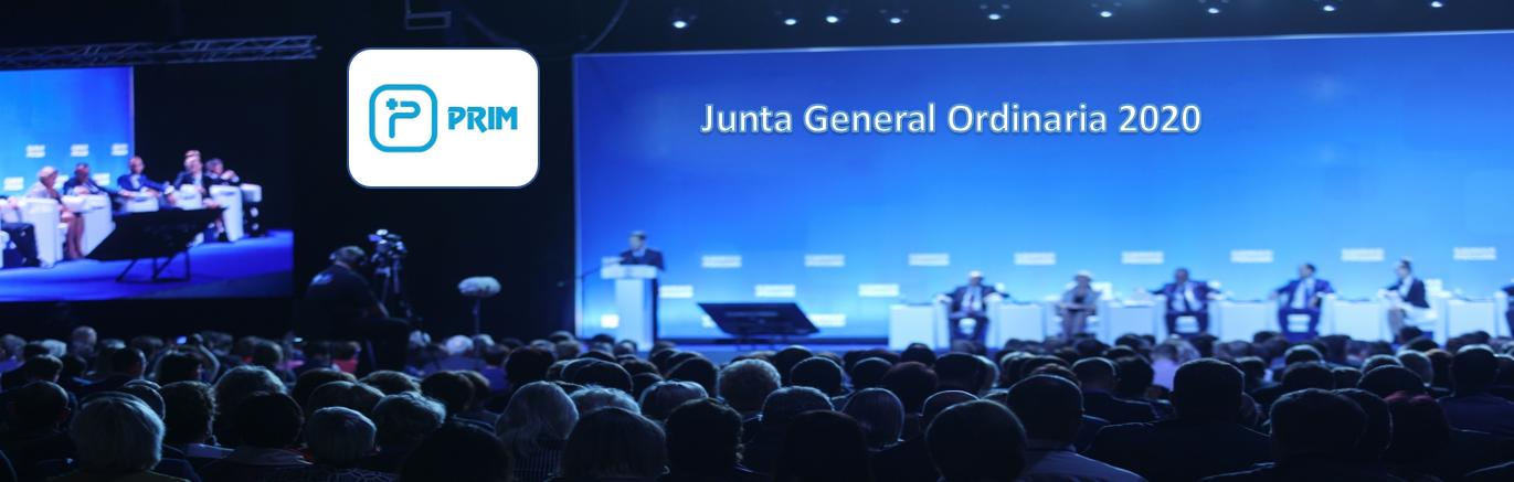 La sociedad Prim anuncia Junta General Ordinaria de Accionistas 2020