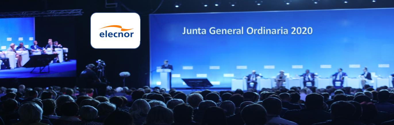 La sociedad Elecnor anuncia Junta General Ordinaria de Accionistas 2020