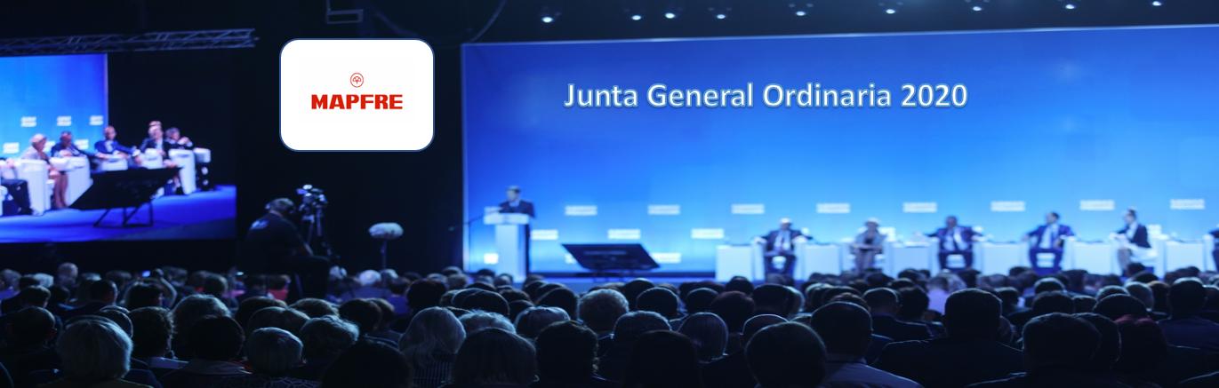 La sociedad Mapfre anuncia Junta General Ordinaria de Accionistas 2020
